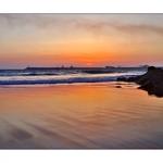 Reflexos Sobre A Praia