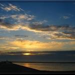 Pôr De Sol Do Atlántico
