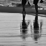Descalços Na Praia
