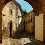 Zona antiga de Faro.