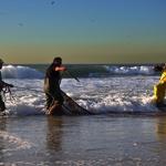 bailado no mar