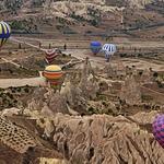 Balonismo na Capadócia