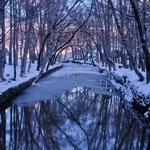 ...rio gelado...