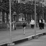 A corredora________________________