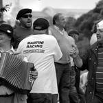Momentos de descontração numa manifestação