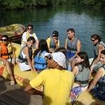 Preparados para o rafting_