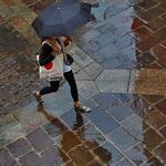 Passos na chuva