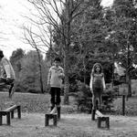 Brincadeiras no parque