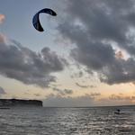 Voando sobre a água