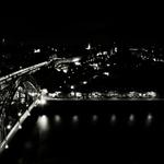 Porto pela noite_P&B