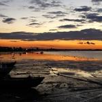 Pôr-do-sol em Alcochete_