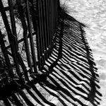 Sombras na areia ...