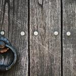 Pormenor da porta de um escritor