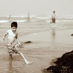 Brincadeiras na água___