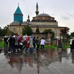 A caminho da Mesquita