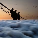 ò gaivota ao voar, traz a sorte que há no mar