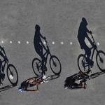 Trio ciclista