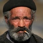A vida na ponta de um cigarro...