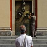 Porta da Igreja dos Jesuítas