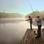 Pescando lambarís