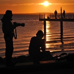 Fotógrafos em acção