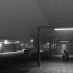 Nevoeiro na noite