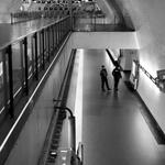 Underground Police Watching