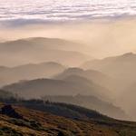 Neblina na montanha