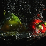 Photography with water.
