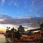 Morning View at Fishing Village