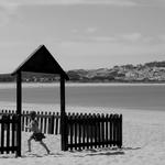 O parque da praia ___