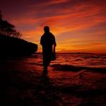 sang nelayan pencari ikan