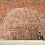A bolha no muro___
