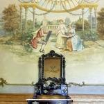 Detalhes da sala de chá