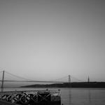 a ponte, vista do cais________
