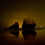 Praia dos 3 Irmãos by night