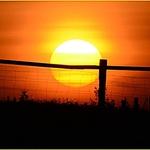 Por do Sol em Aldeia