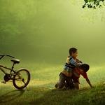 berebut sepeda