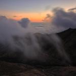 Nuvens a subir