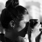A fotógrafa
