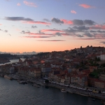 Pinceladas nos céus do Porto