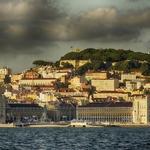 Lisboa vista do tejo.
