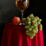 Composição com frutas