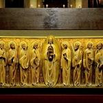Detalhe do altar da catedral de Montevidéo