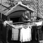 Anciã na mansarda