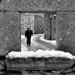 Pelas rua nevadas