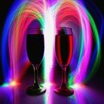 Copos - Luz e cor