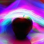 A Maçã - cor e luz 2