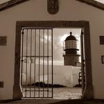 Entrada para o Farol do Cabo do S.  Vicente
