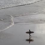 O mar é prateado!!